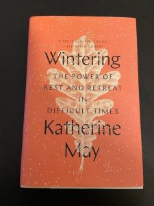 "Cover of book ""wintering"" by Katherine May"